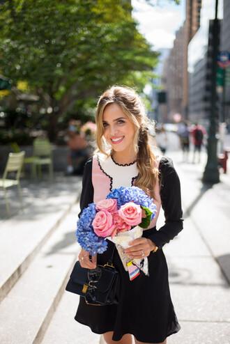gal meets glam blogger dress sunglasses bag shoes jewels