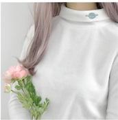 sweater,girly,tumblr,white,sweatshirt,science