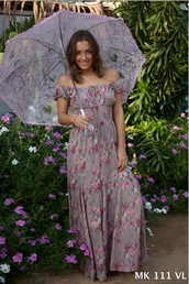 dress,cotton,maxi dress,cute dress,floral,hippie,hippie chic