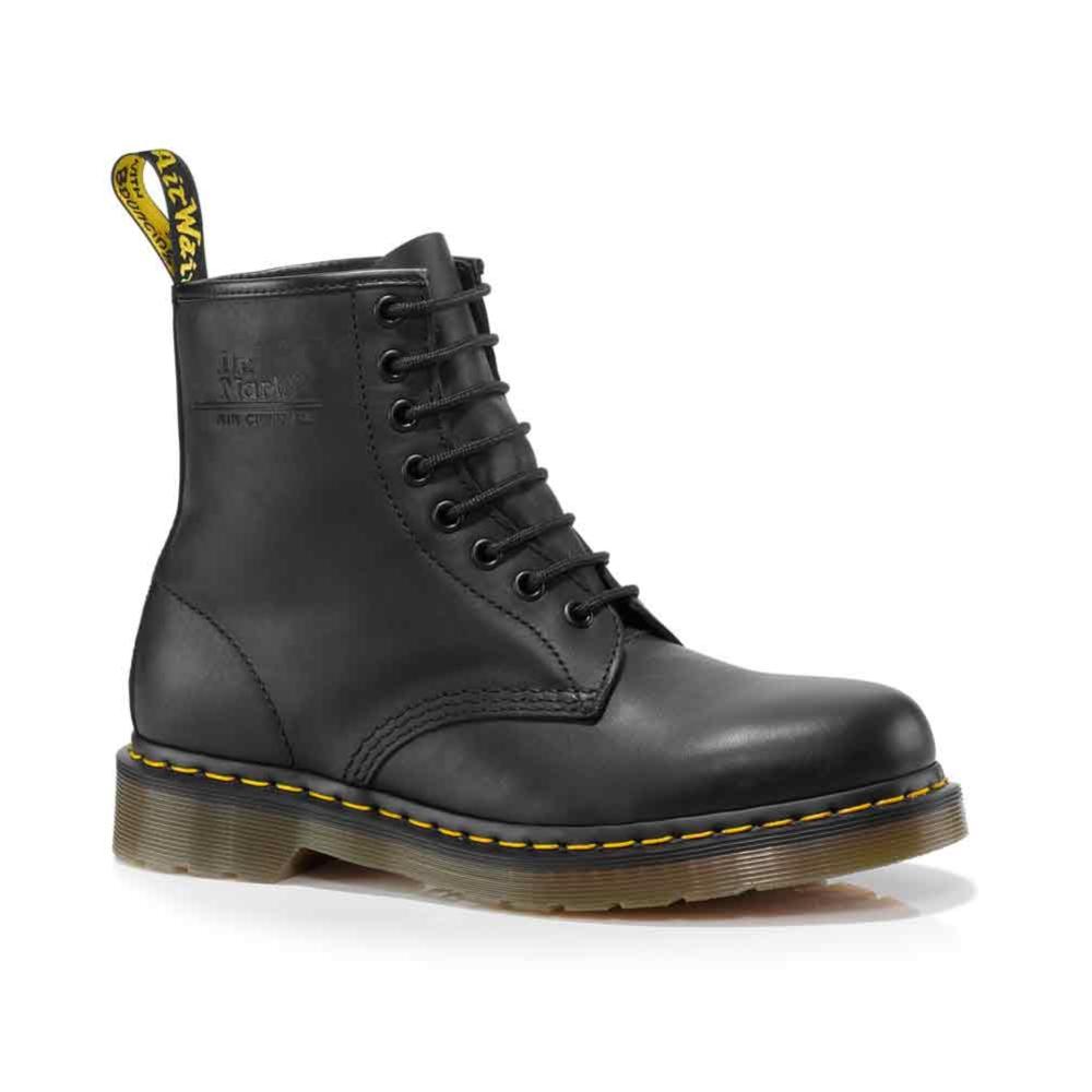 dr martens greasy 1460 8 eye boot black journeys shoes. Black Bedroom Furniture Sets. Home Design Ideas