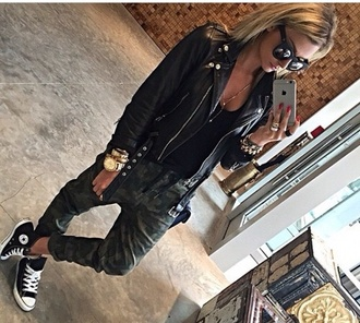 pants military style style green military pants