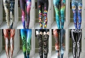 pants,cute,cool,stylish,girl,teenagers,galaxy print,style,fashion,fashionista,love,tetris,gamer,sweet,lovely,leggings,colourful leggings,bones,colorful,printed leggings,jeans