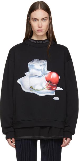 Acne Studios sweatshirt black sweater