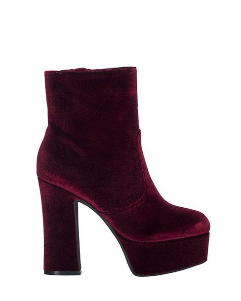 Jeffrey Campbell velvet ankle boots ankle boots velvet shoes