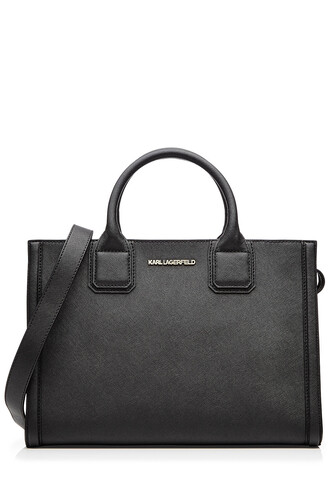 classic bag tote bag leather black