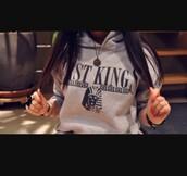 sweater,last kings,cropped hoodie,hoodie