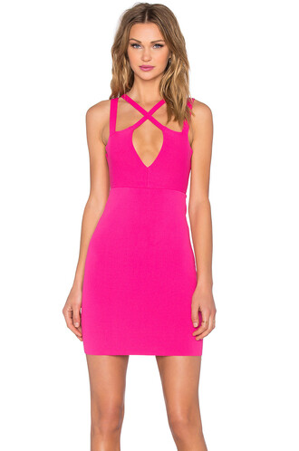 dress bodycon bodycon dress pink