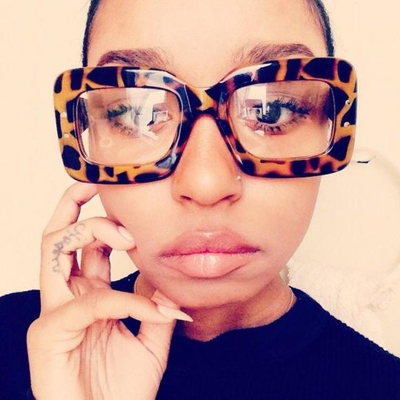sunglasses clear frames