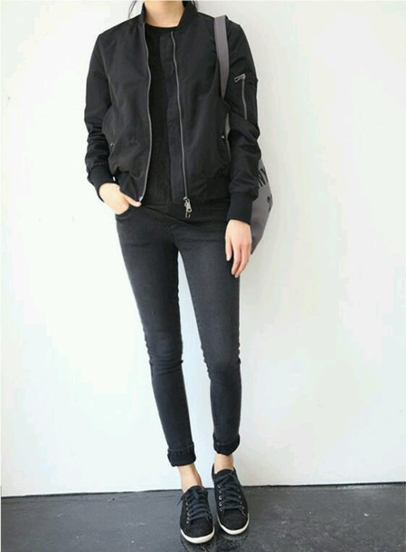 coat jacket black leather clothes