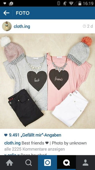 shirt grey t-shirt best friend love it find it please