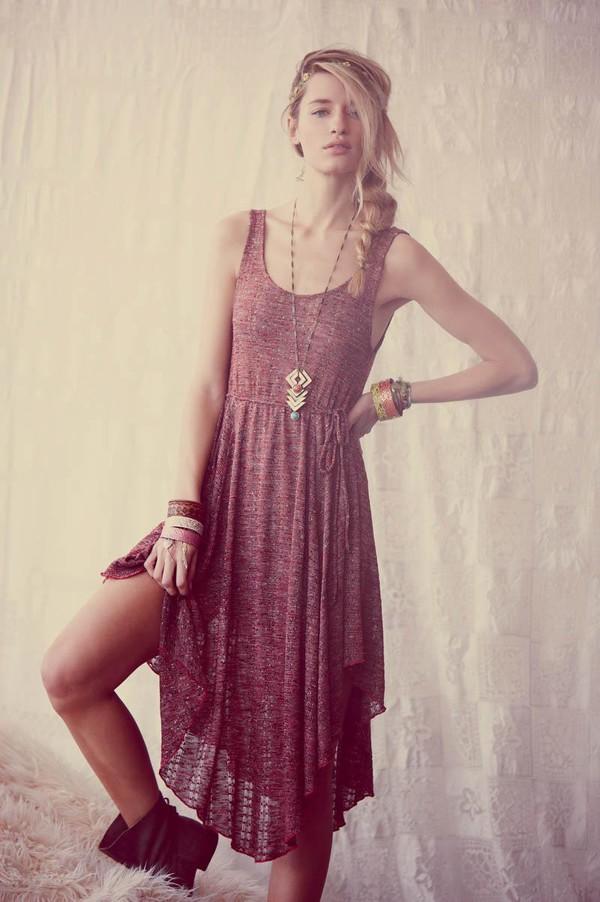 dress burgundy indie boho jewels bohemian bohemian dress summer dress style hippie cardigan shoes clothes long dress flowy