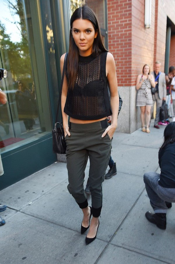 top pants shoes kendall jenner leggings
