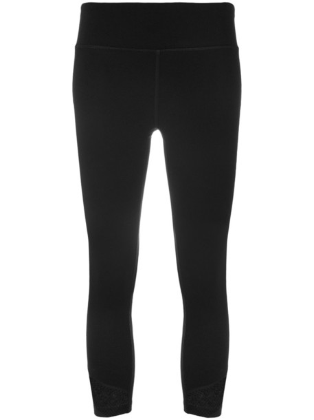 leggings cropped women spandex black pants
