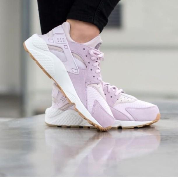 ac9430e2b11e shoes lilac nike hurache nike nike running shoes hurarches purple pastel  trainers sneakers nike shoes nike