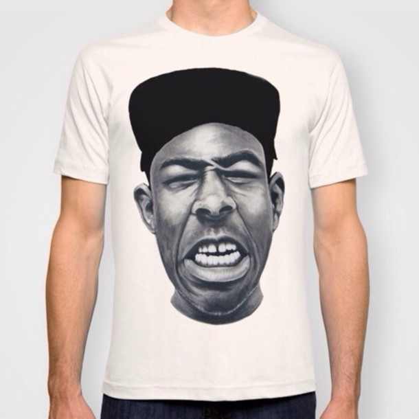 47d4be2b63e7 shirt tyler the creator fashion cool shirts black and white