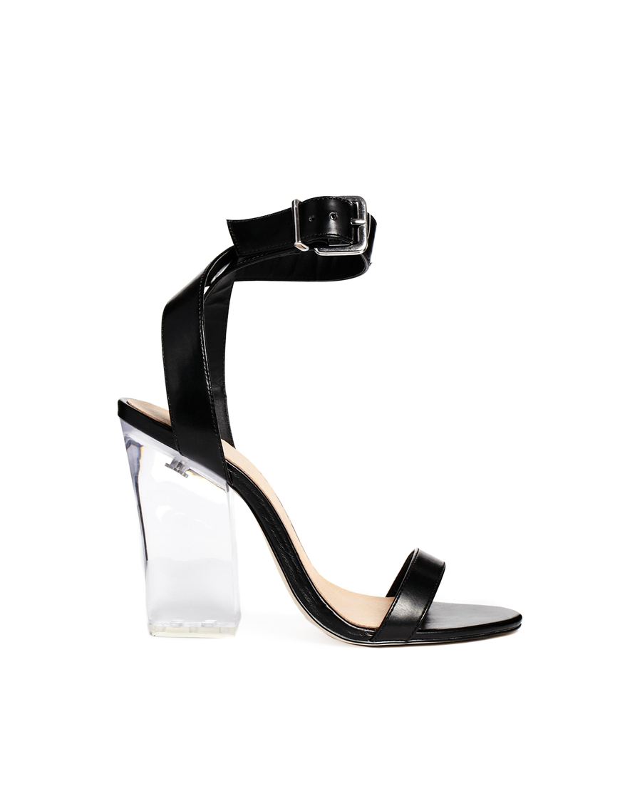 ASOS HUNTINGTON Heeled Sandals at asos.com