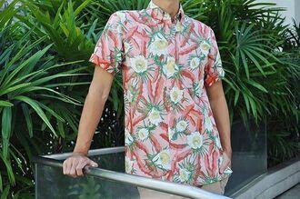shirt hawaiian shirt hawaiian looking shopping fashion cool shirts mens shirt hawaiian