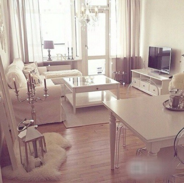 home accessory nice ....nice cool awesome! home decor home decor classy all white everything table home furniture