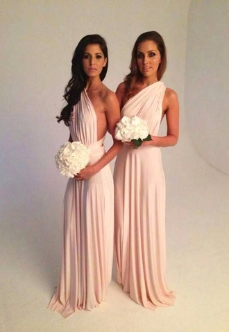 grecian dress bridesmaid