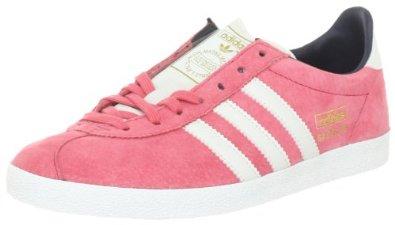 b190718934c5b adidas Originals GAZELLE OG W G60757, Damen Sportive Sneakers, Pink (SUPER  PINK S12 / WHITE VAPOUR S11 / DARK NAVY), EU 43 1/3 (UK 9): Amazon.de: ...