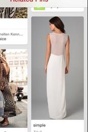 dress,white dress,prom dress,simpledress,prettydress,backless dress,backless white dress,backless prom dress,cute dress