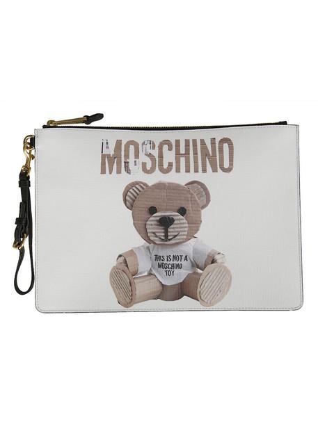 Moschino bear clutch bag