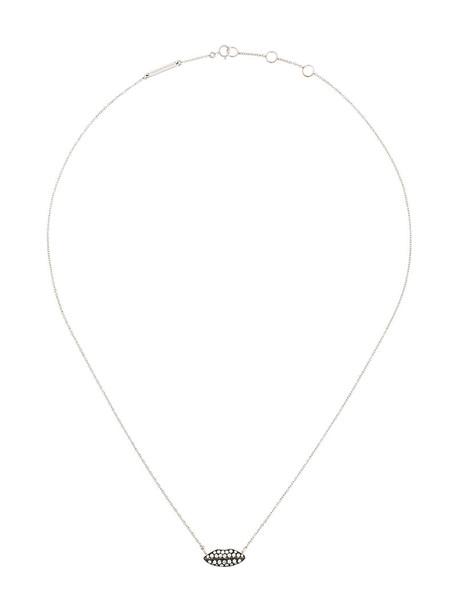 Delfina Delettrez women necklace gold white grey metallic jewels