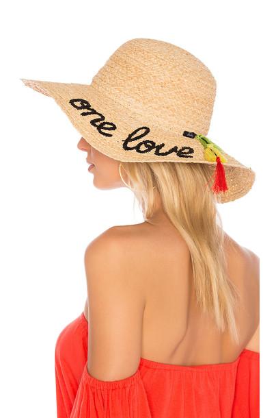 Hat Attack love tan hat