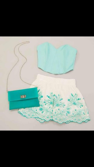 mint floral mint green floral shorts