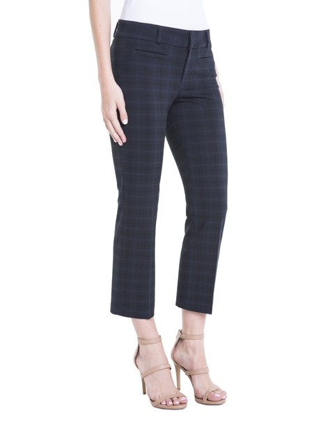 Liverpool Vera Cropped Trouser in blue
