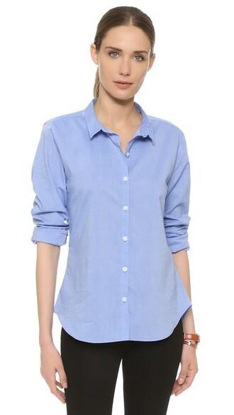 shirt blue shirt blue top