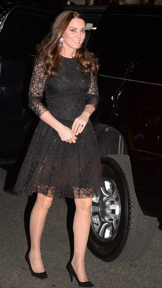 dress lace dress kate middleton prom dress lace black