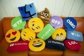 pajamas,pillow,emoji print,i want the #pillow,home accessory,emoticons,reblog,youtube,like,funny,bedroom,emoji pillow