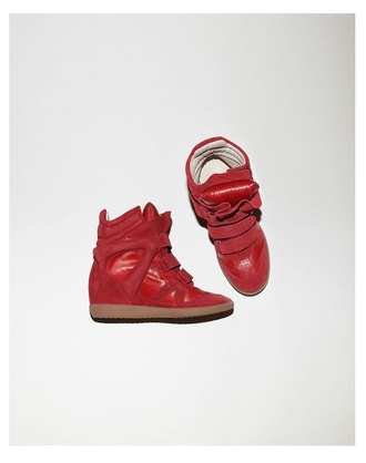 shoes sneakers high tops red shoes
