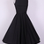 Audrey Hepburn Boatneck swing dress black AH2011A [AH2011A] - £29.99 : Queen of Holloway, Dressing Shop