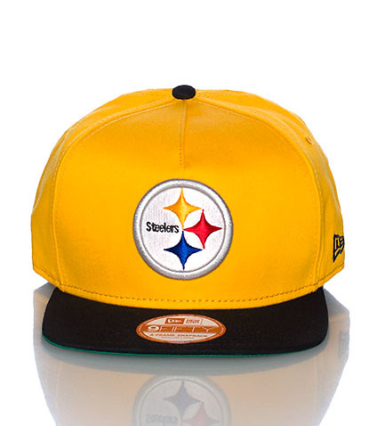 PITTSBURGH STEELERS NFL SNAPBACK CAP - Yellow - NEW ERA | Jimmy Jazz