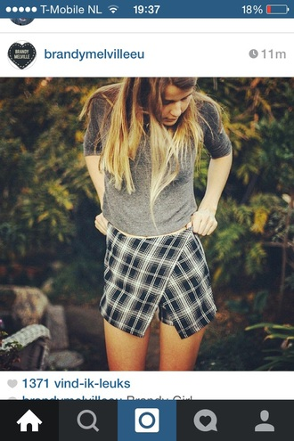 skirt cute tumblr vintage brandy melville