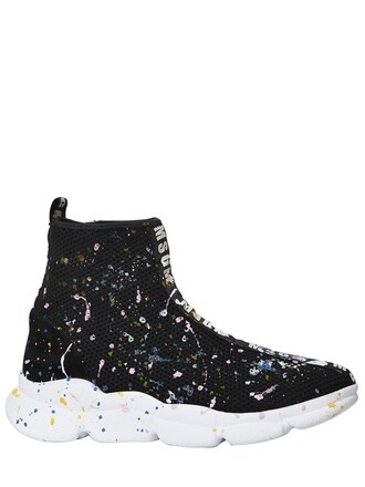 sneakers neoprene black shoes