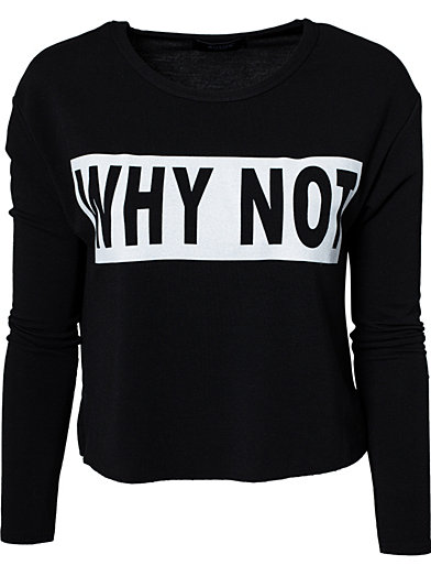 Whato Top - Sisters Point - Black - Jumpers & Cardigans - Clothing - Women - Nelly.com Uk
