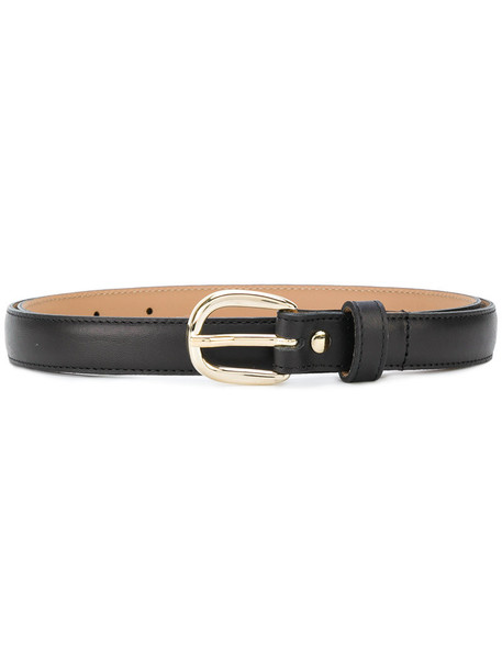 A.P.C. women belt leather black