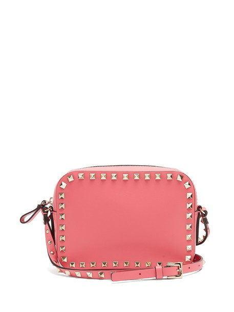 Valentino cross bag leather pink