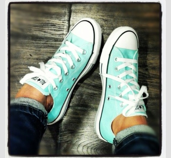 shoes tiffany blue chuck taylor all stars