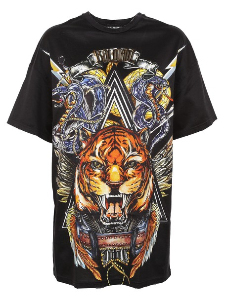 t-shirt shirt t-shirt animal print multicolor top