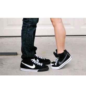 shoes black and white couple shoes nike girls guys nike shoes black and white shoes
