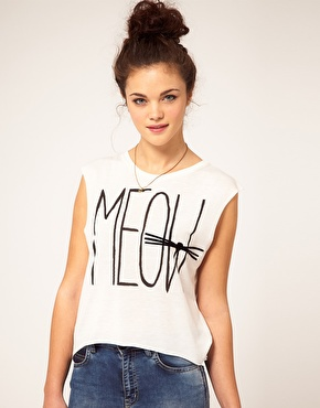 River Island | River Island Meow Vest at ASOS