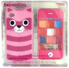 Brand New Expressions Lip Gloss Palette with Pink Kitty Cat iPhone 4 4S Case | eBay