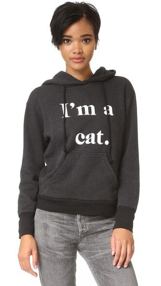 sweatshirt cat sweatshirt black sweater
