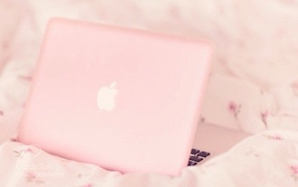 home accessory laptop computer case girly pastel pink computer accessory