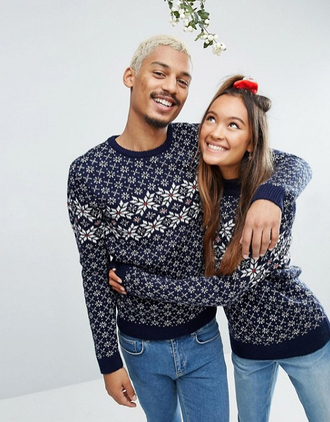 sweater christmas sweater boy mens sweater navy sweater sweater weather matching couples couple sweaters holiday season