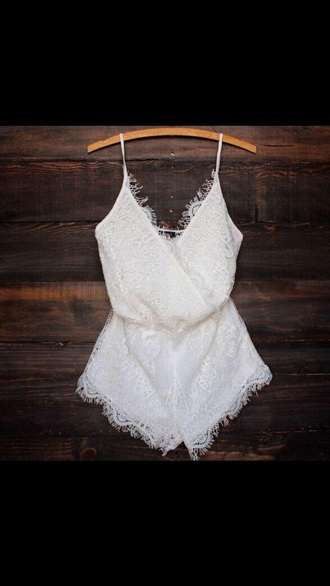 romper tumblr outfit white dress